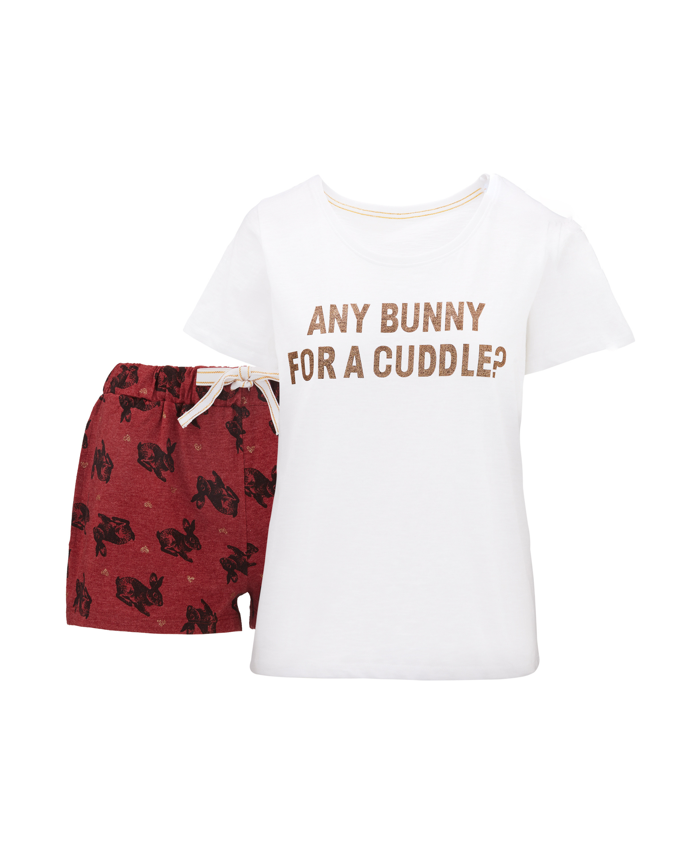 54743f6633650a Ladies' Bunny Shorty Pyjamas - ALDI UK