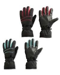 Crane Ladies' Ski Gloves