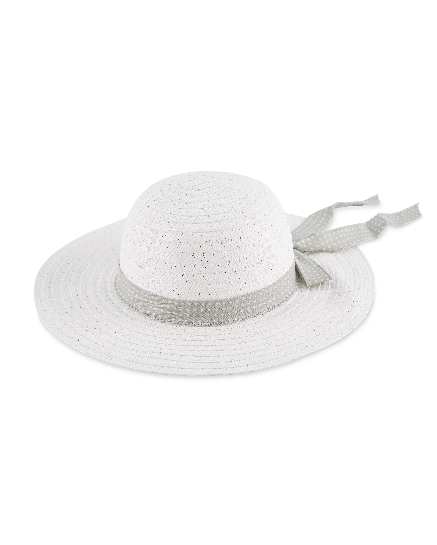 da58c91db2c5d8 Avenue Ladies' White Summer Hat - ALDI UK