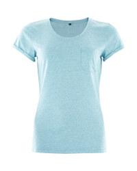 Crane Ladies Teal Outdoor T-Shirt