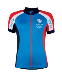 Ladies' Team GB Cycling Jersey - Blue