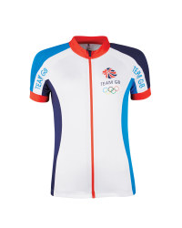 Ladies' Team GB Cycling Jersey - White