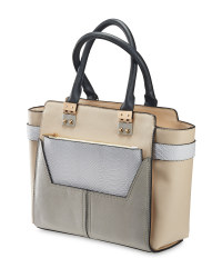 Avenue Ladies' Tote Handbag - Cream