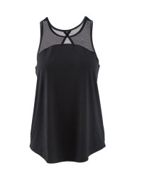 Crane Ladies Vest Top - Black