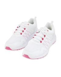 Crane Ladies' White Sport Shoes