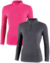Ladies Zip Neck Fleece