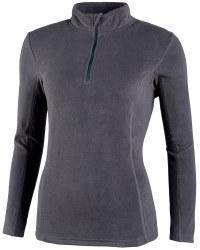 Ladies Zip Neck Fleece - Anthracite