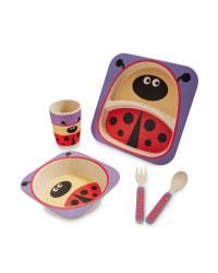 Ladybird Bamboo Dinner Set