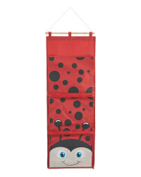 Ladybird Nursery Hanging Storage
