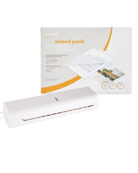 Laminator and A5 Laminating Pouches