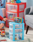 Large 3 Drawer Tower - Red