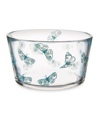 Large Butterfly Serving Bowl