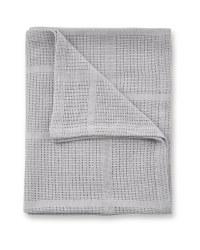 Large Cellular Blanket - Grey