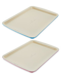 Large Ceramic Baking Cookie Tray