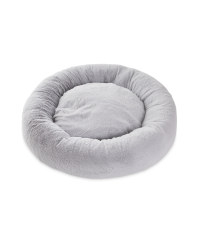 Large Dog Bed - Grey Short Pile