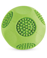 Large Green Rubber Ball & Squeaker