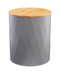 Large Grey Kitchen Storage Tin