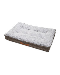 Grey Memory Foam Pet Bed