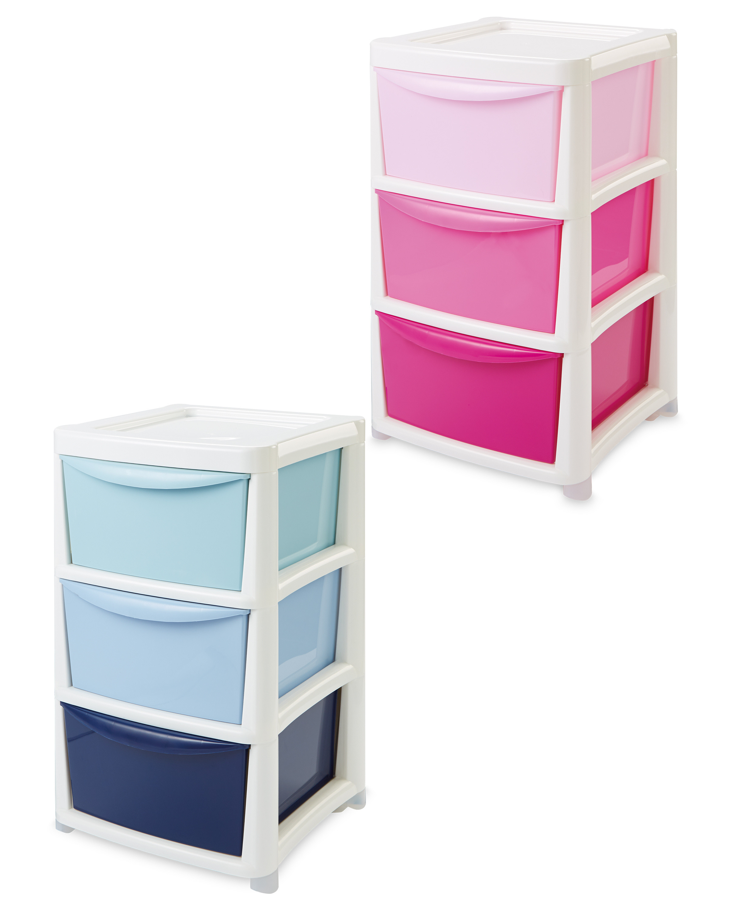 Premier Large Ombre 3 Drawer Tower Aldi Uk