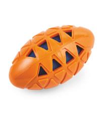 Large Orange Crunch Dog Toy