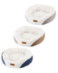 Large Oval Pet Bed