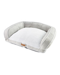Large Recycled Pet Sofa Bed - Light Grey