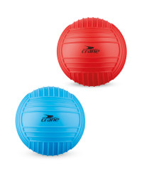 Large Red/Blue Sport/Pool Ball Set