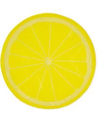 Large Round Lemon Pet Cooling Mat