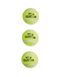 Large Tennis Balls 3 Pack