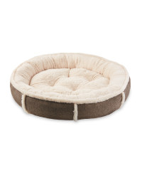 Pet Collection Tweed Houndstooth Bed