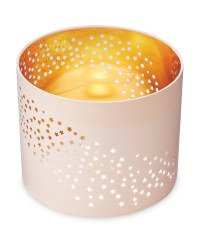 Laser Cut Out Light Shade - Pink