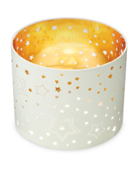 Laser Cut Out Light Shade - White