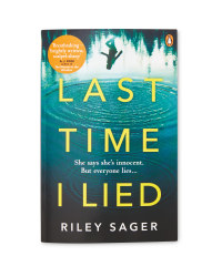 Last Time I Lied Paperback Book