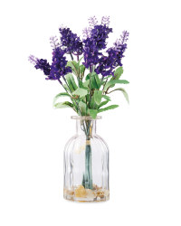 Lavender in Glass Vase