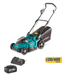 Lawn Mower with Battery & Charger