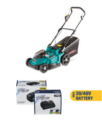 Lawnmower & 20/40V Battery/Charger