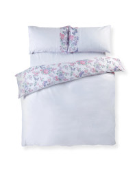 Layla Pintuck Double Duvet Set