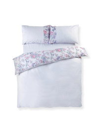 Layla Pintuck King Duvet Set