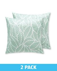 Leaf Garden Cushion 2 Pack