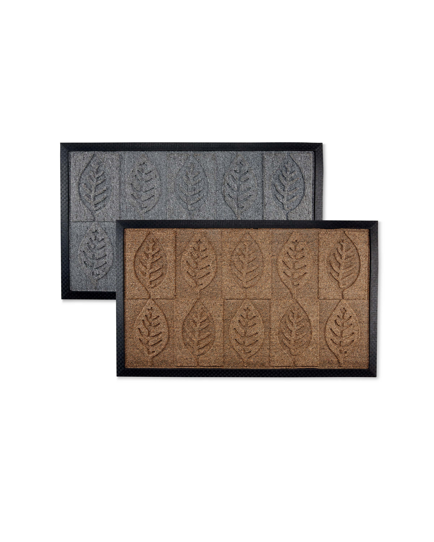 Leaves Design Doorguard Mat
