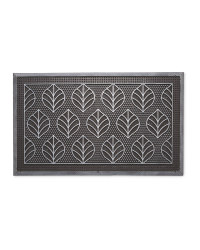 Leaves Outdoor Rubber Mat