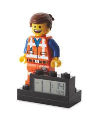 Lego Movie 2 Emmet Alarm Clock