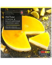 Lemon & Mascarpone Cheesecake