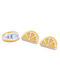 Lemon Kitchen Bag Clips 3 Pack