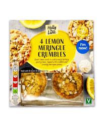 Lemon Meringue Crumbles