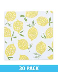 Lemon Printed Napkins