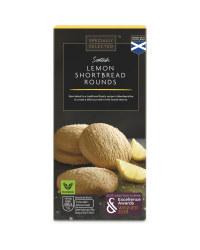Lemon Shortbread Rounds