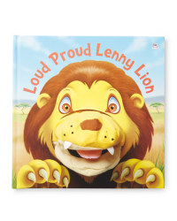 Lenny Lion Hand Puppet Book