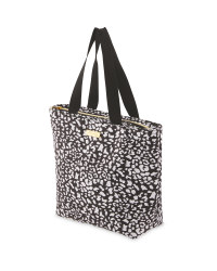 Leopard Print Tote Lunch Bag