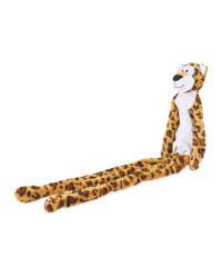 Leopard Rope Plush Dog Toy